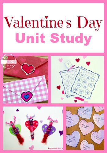 You and your kids will have fun learning all about Valentine's Day with this fascinating week-long valentines day themes. We have valentines day rafts, valentines day math, litearcy, valentines day science, activities for valentiens day, free valentines day worksheets, and more. This Just pick your favorite books and fun educational activities and you're ready to go. Thisvalentine day theme is perfect for preschoool, pre-k, kindergarten, first grade, 2nd grade, 3rd grade, and 4th grade students.