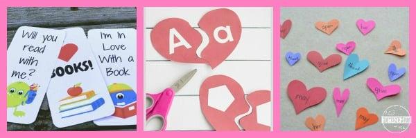 Valentines Day Language Arts Activities