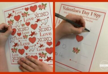 Valentines Day I Spy Printables