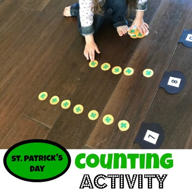 free printable st patricks day math activity