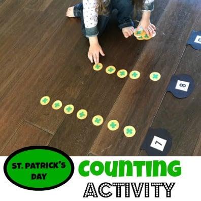 free printable st patricks day math activity