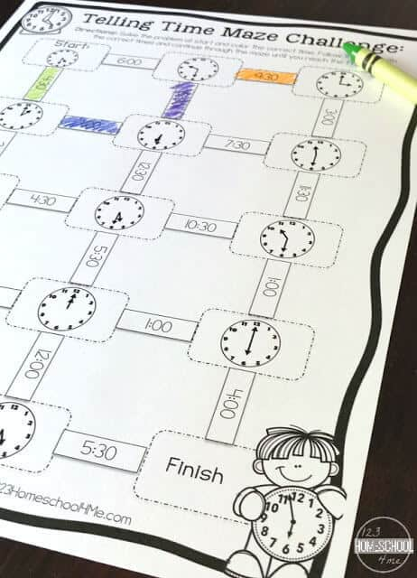 no prep telling time worksheets are a great way for kids to practice figurieng out the time on the clock