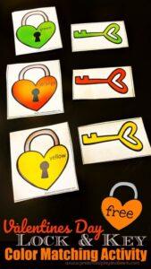valentines day activity for preschoolers
