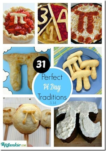Pi Day Activities - so many fun, clever activities and pie day Traditions for families, preschool, kindergarten, first grade, 2nd grade, 3rd grade, 4th grade, 5th grade, classrooms