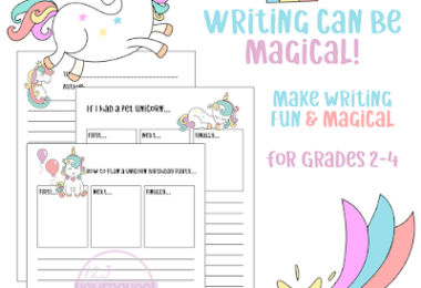 FREE Unicorn Writing Prompts