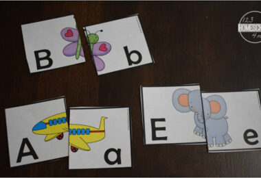 Uppercase-and-LowerCase-Alphabet-Puzzles