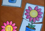 Free Flower Number Names Puzzles