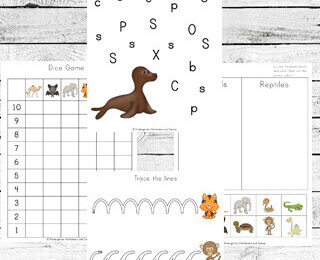 Free Mammals Worksheets for Kids