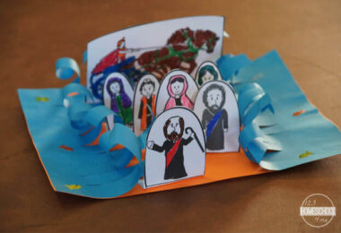 Parting of the Red Sea Bible Craft