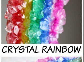 Crystal Rainbow Kids Activity