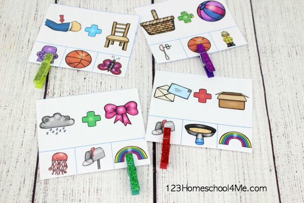 5 Free Compound Words Activities