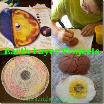 Handson project for exploring the earth's layers