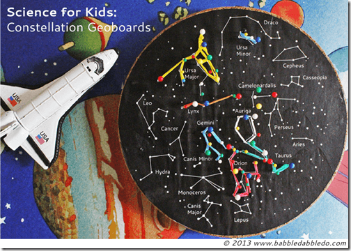 Constellation Geoboards