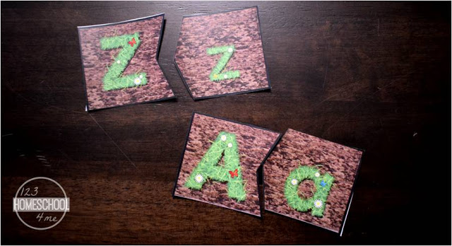 upper lower case alphabet game is a fun, educational activity for toddler, preschool, prek, and kindergarten age kids