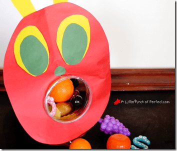 very hungry caterpillar game for toddler and preschoolers