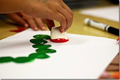 very hungry caterpillar marshmallow craft for kids