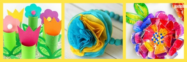Flower Art or Craft Projects