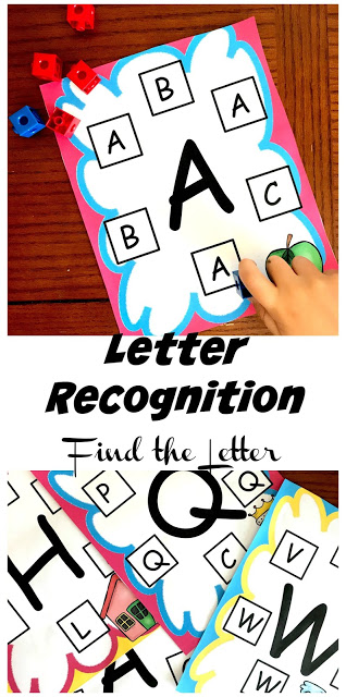Make if fun for young learners to practice letter recognition with thispreschool letter recognition. This easy, no-prep letter recognition activities preschoolis such a good way for children to practice recogniting uppercase letters. SImply download pdf file with theseletter recognition printable and you are ready to play and learn your upper case letters!