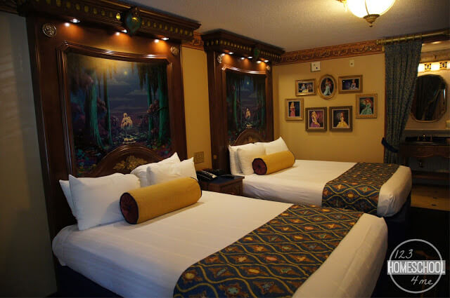 port Orleans princess rooms at Disney World