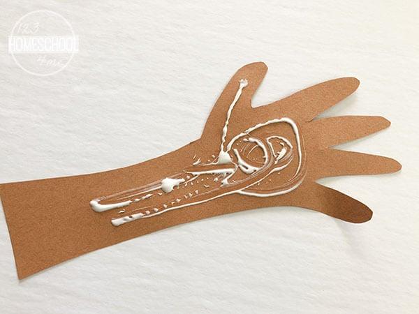child handprint craft