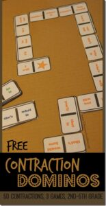 Free contraction came for learning contraction words