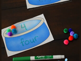 Free Pool Writing Numbers