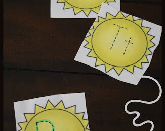 Free Summer Alphabet Tracing