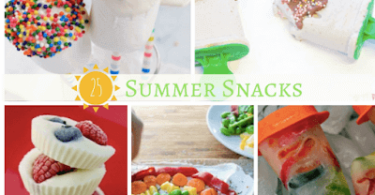Summer Snacks Kids will LOVE