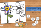 Flower-Word-Family-Cut-and-Paste-Worksheets