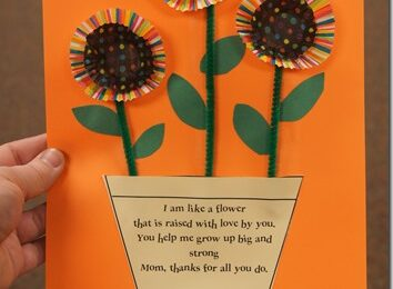 Mothers Day Craft with Poem