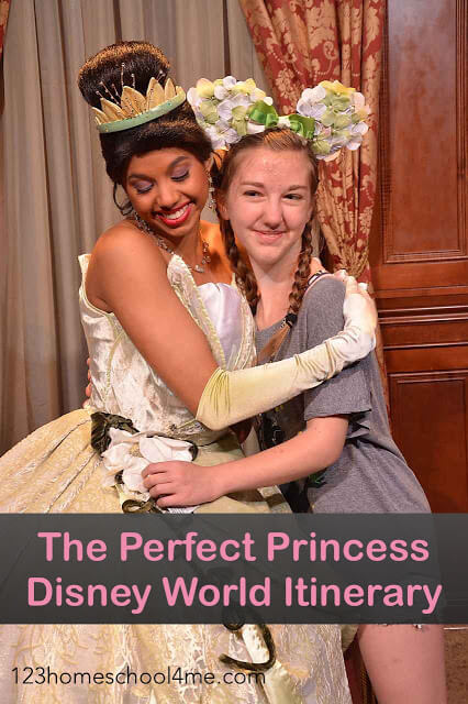 Perfect Princess Disney World Trip - everything you need including lots of tips and tricks for your next Walt Disney World vacation including best princess restaurants, best princess fastpasses, best princess touring plan, and more.