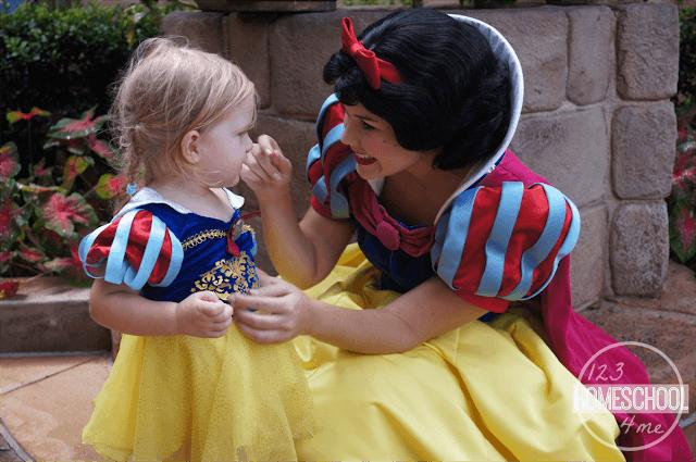 tips for meeting princesses at walt disney world