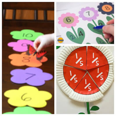Flower Math Projects