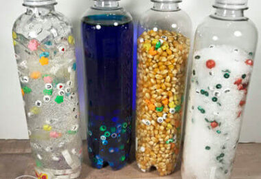 4 Seasons Sensory Bottles