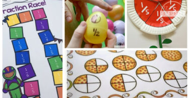30 Fraction Activities, Worksheets, and Games