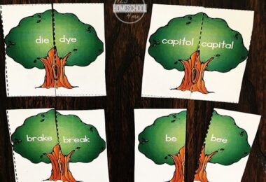 Earth Day Homophones Puzzles