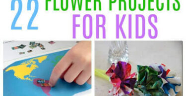FUN Flower Projects for Kids