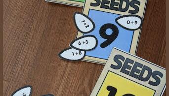 Free Make 10 Seeds Activity