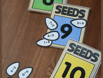 Free Make 10 Seeds Activity