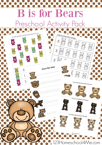 letter-b-B-is-for-Bear-preschool-worksheets