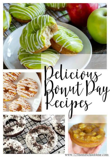 Delicious Donut Day Recipes