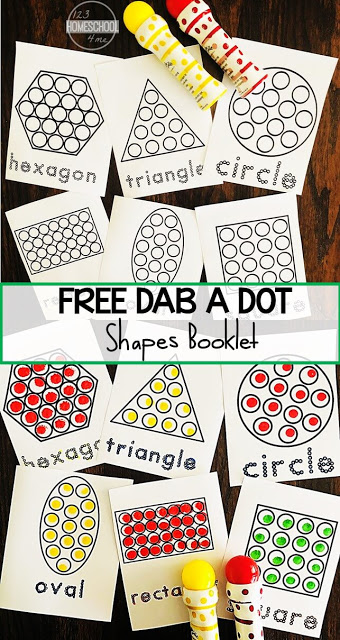 do a dot printables include 7 shapes that kids can learn to identify as well as the shape name too. These shape worksheetsare not only great for learning common shapes, but are loads of fun for kids to use bingo daubers (also known as dot markers and bingo markers) These do a dot worksheets free printables are great for toddler, preschool, pre-k, and kindergarten age students. Simply printdo a dot printables free pdf and you are ready to dab and learn!
