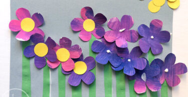 Painted-Flower-Craft-for-Kids