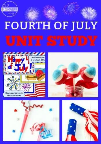 Learn all about America's independence day with this delightful 4th of july theme. We have lots of fun 4th of july activities for preschoolers, kindergartners, grade 1, and up to make learning fun! We've included4th of july math plus 4th of july science experiments, social studies, and lots of 4th of july crafts for preschoolers.