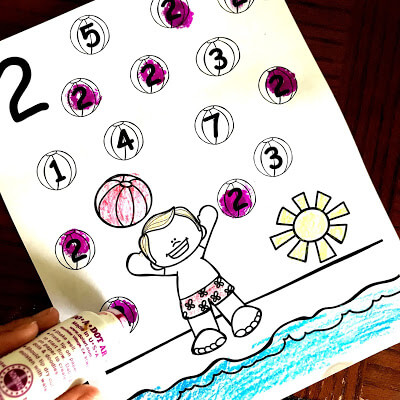kindergarten-worksheets-summer-math