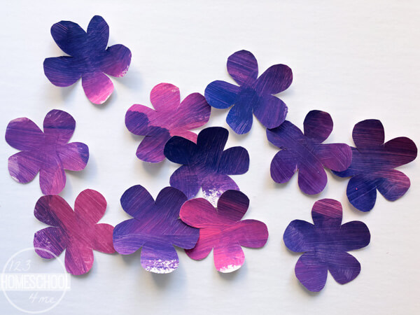 pretty-purple-flower-craft