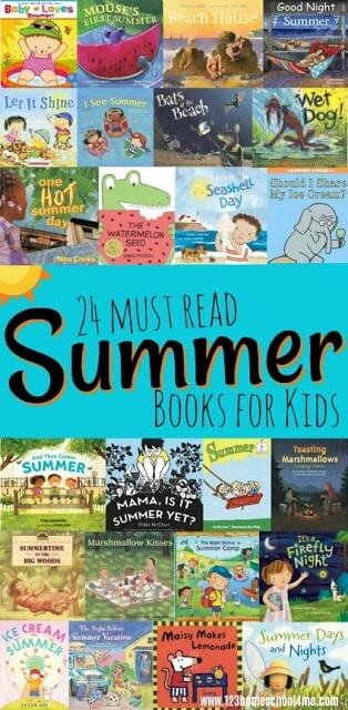 24 Summer Books for Kids to Read - so many really good stories for kids of all ages to read this summer #books #booklist #bookrecomendations