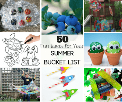 summer bucket list for families