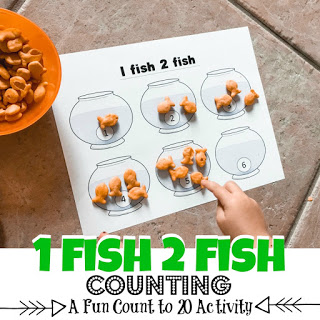One Fish Two Fish Counting Game