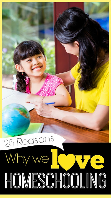 Have you ever wondered why so many families choose to homeschool? Here are 25 reasons why 2 million families in America love homeschooling!